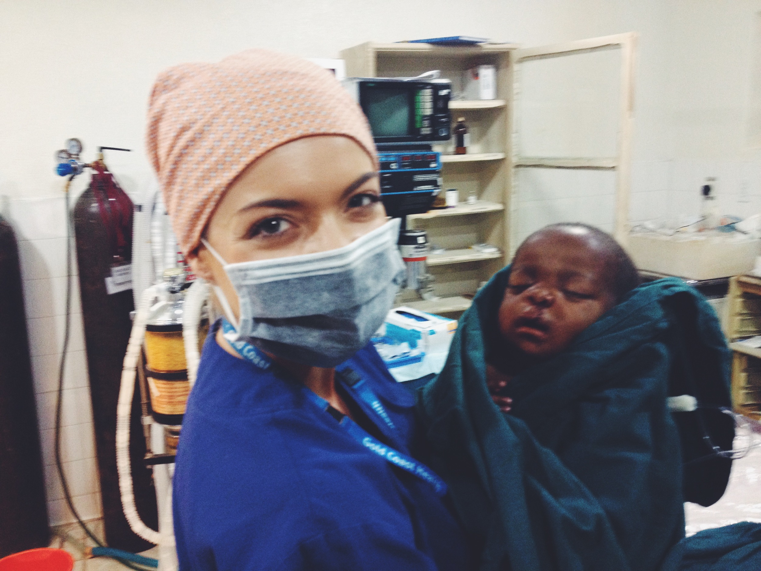 Another successful surgery on this little bub. You can read the story of little Emmanuel by clicking  here .