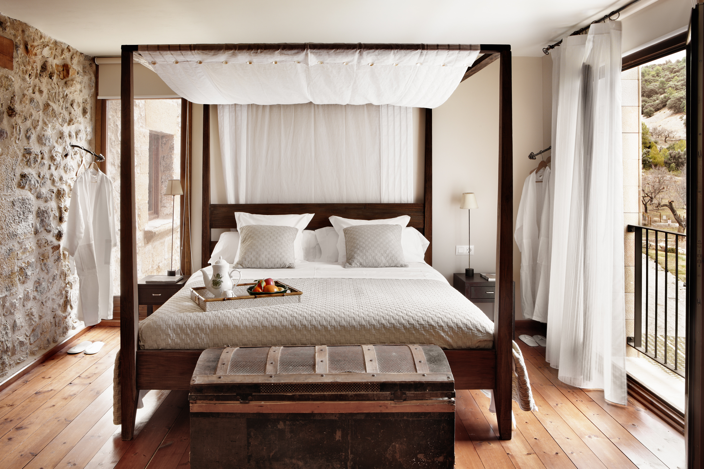 rustic boutique hotel luxury spain converted farmhouse