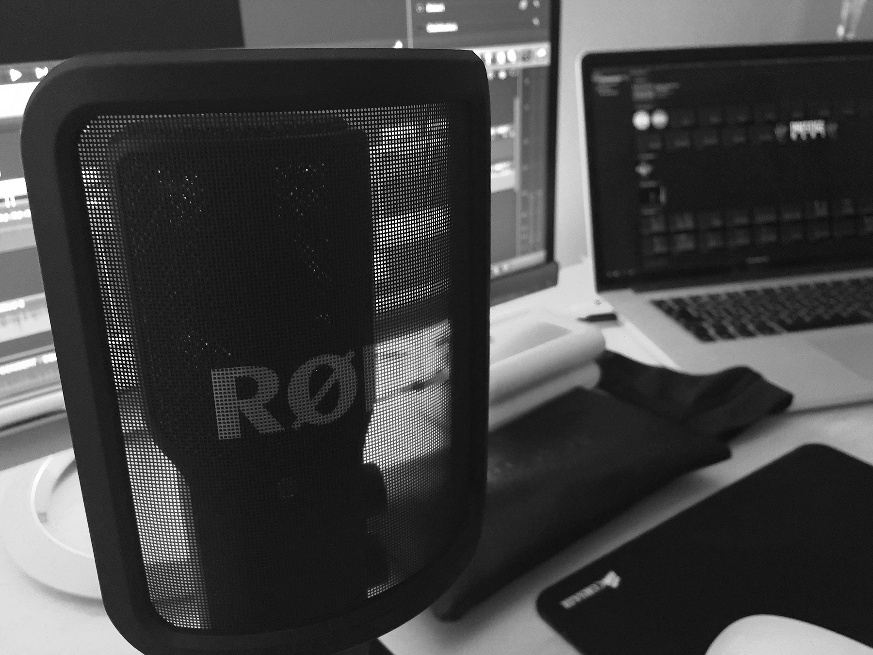 The Rode NT-USB , quality, as usual is brilliant from Rode