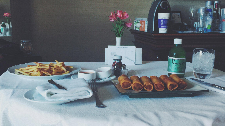 The Editors saviour, room service