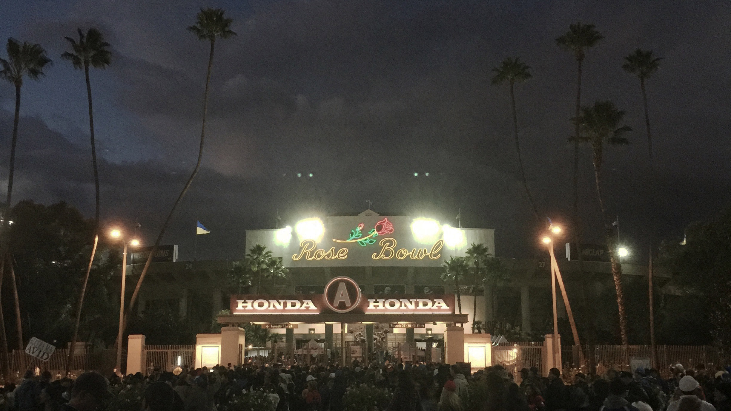 Went to see UCLA Bruins win again at the Rose Bowl