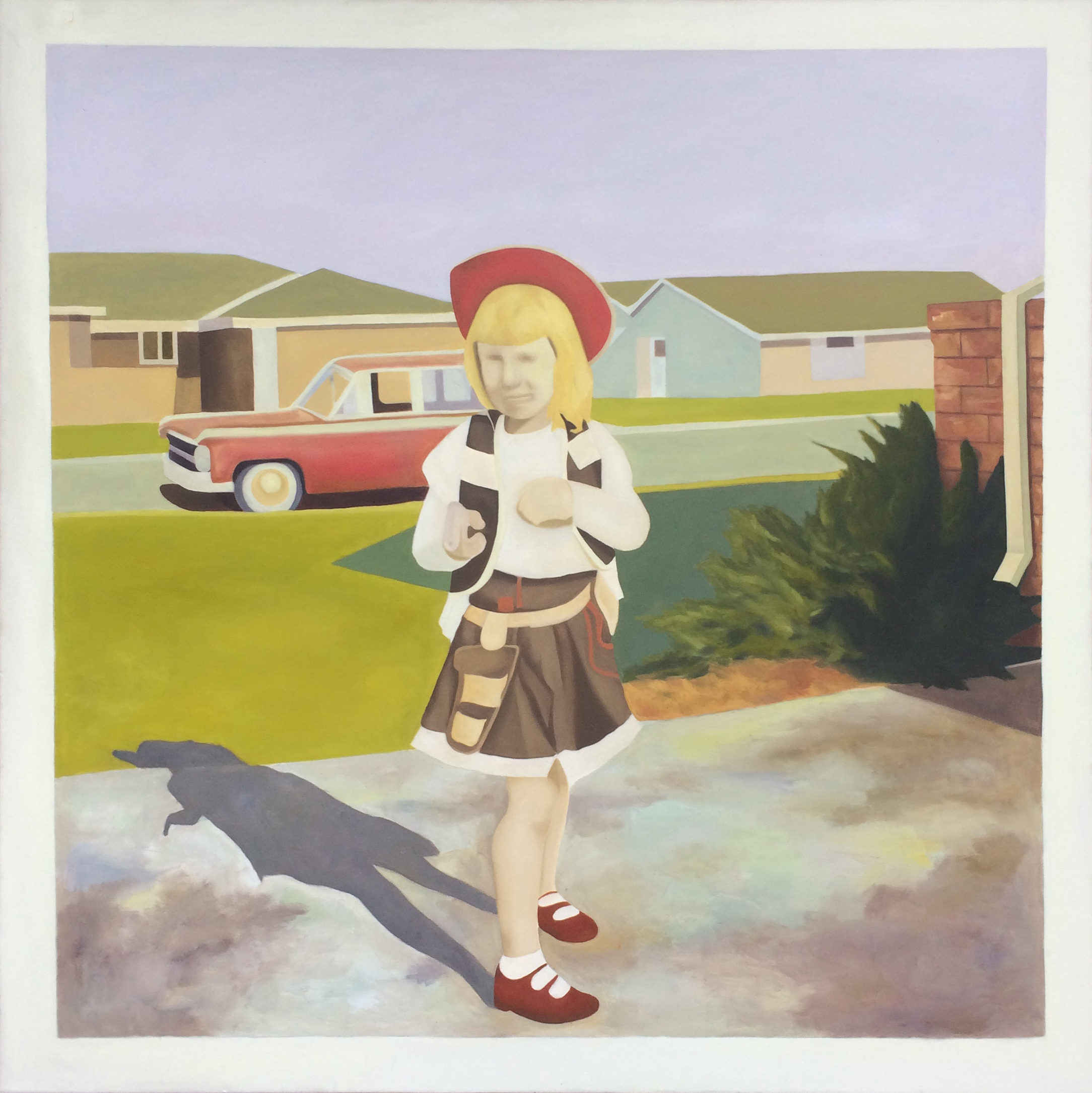 Susie Q, Oil on Canvas, 5 x 5 Feet, 2009.jpg