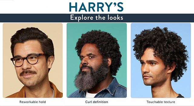 Yes, Explore these Harry's looks we've cast.
