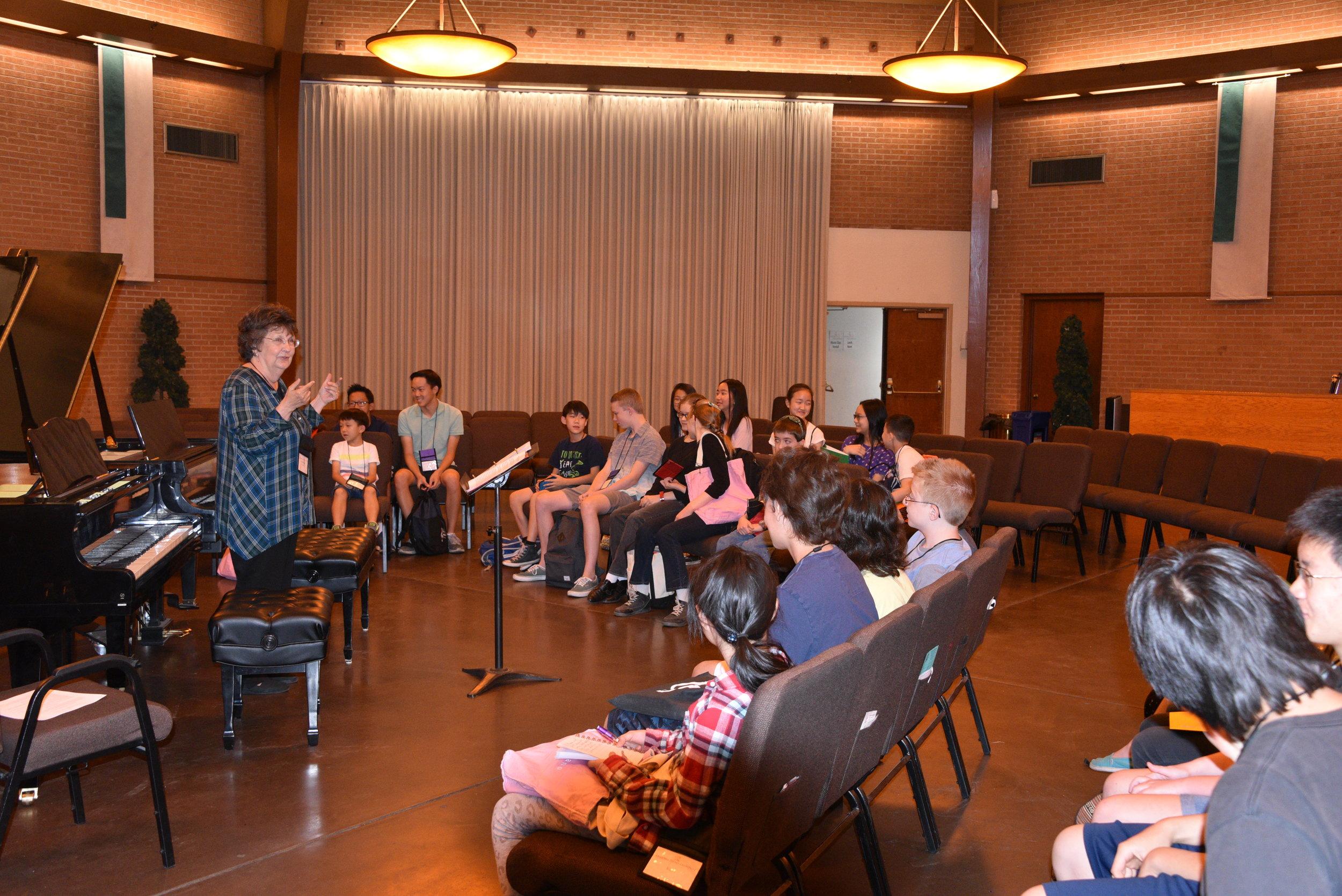 Ann Speaking at Orientation.JPG