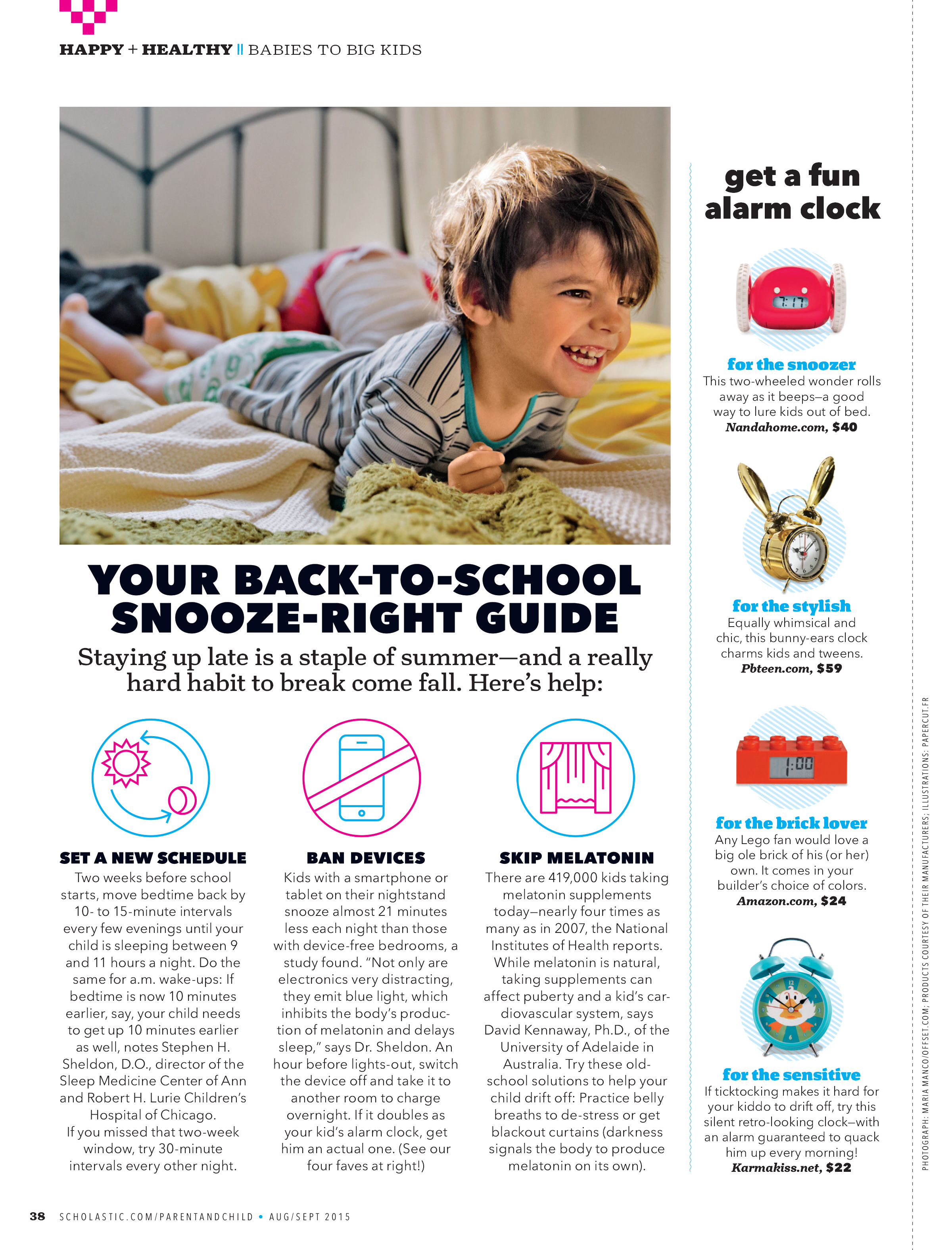 Scholastic Parent & Child Magazine Sept 2015