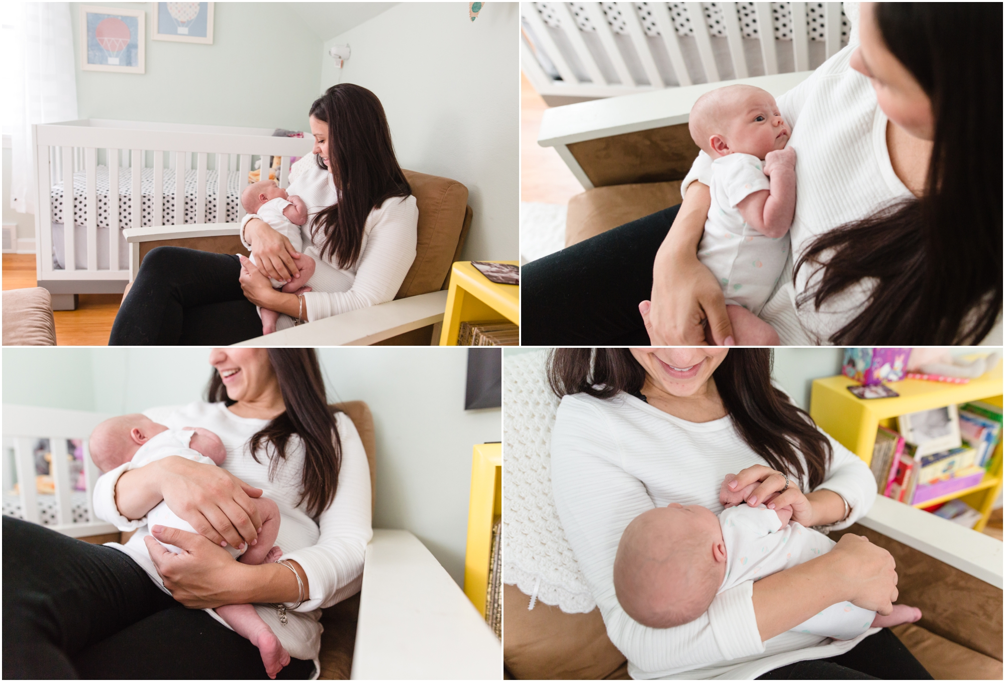 Cleveland, Ohio at home newborn and family photographer