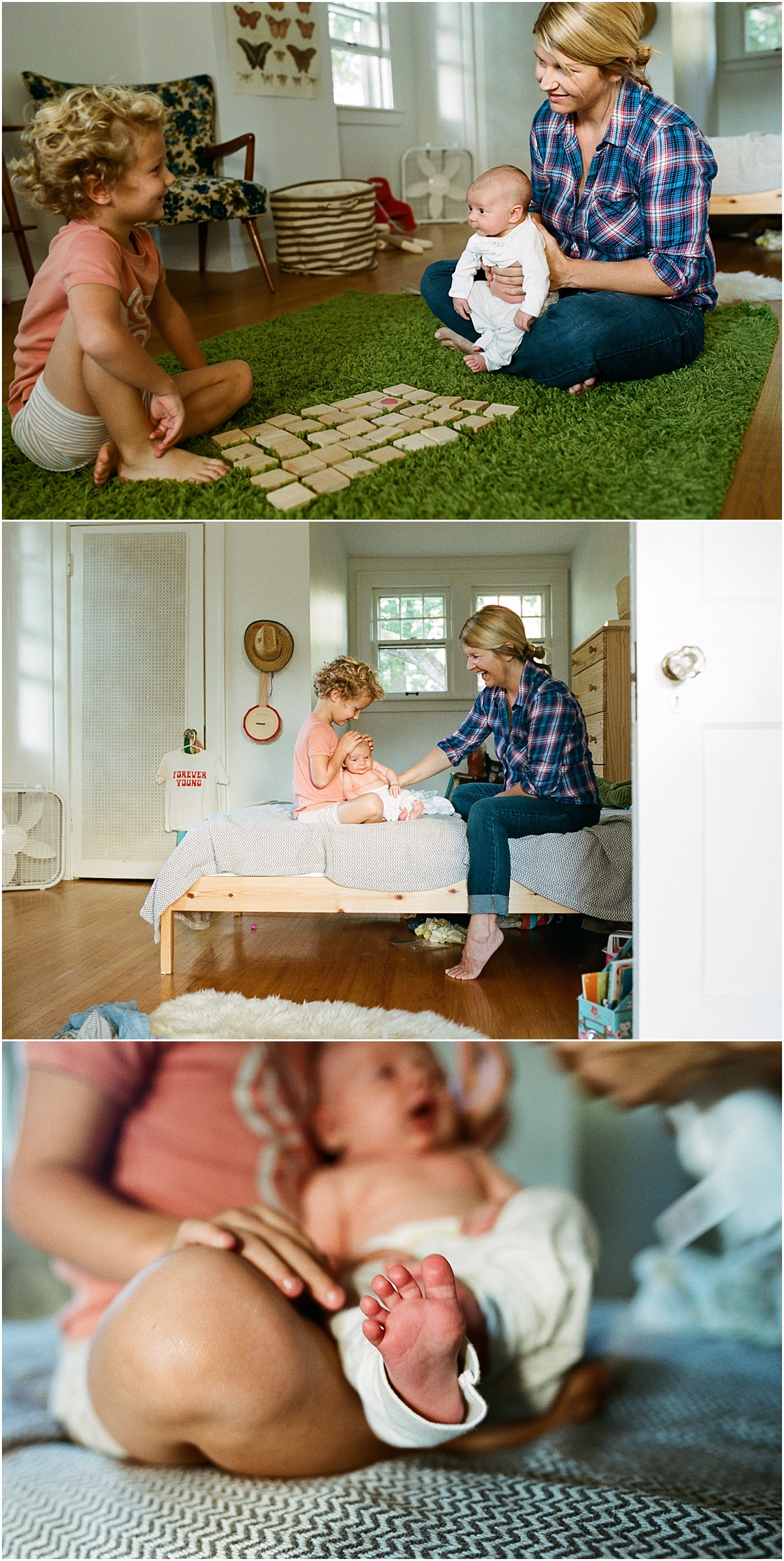©MariaManco Photography Family Session at Home on Film 2
