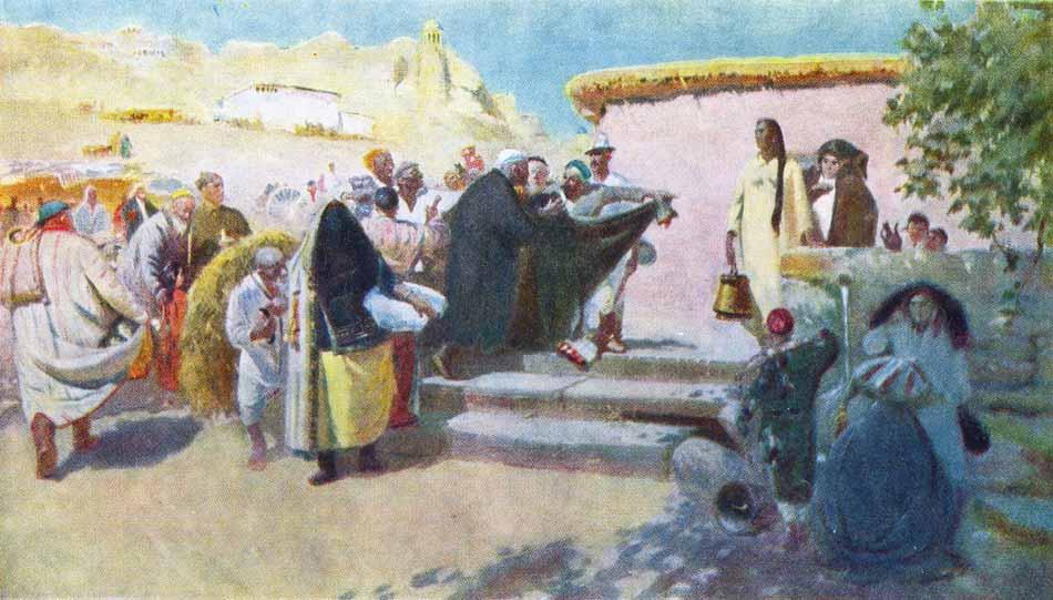 Снятие паранджи, Жмакин, 1957