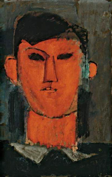 Амедео Модильяни. Портрет Пикассо. 1915.jpg