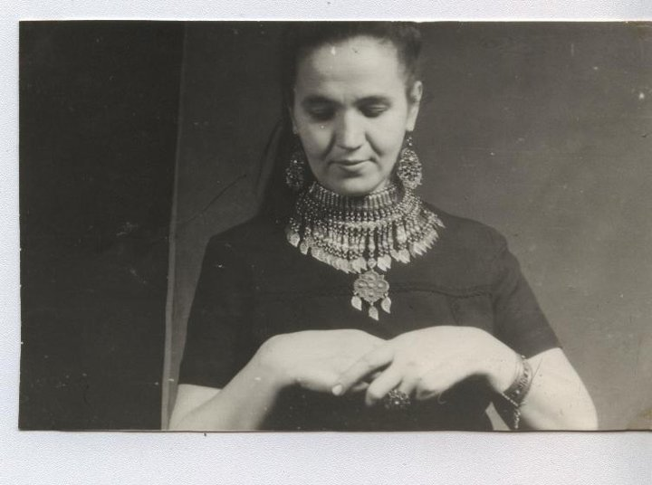 Раиса Берберян, супруга мастера