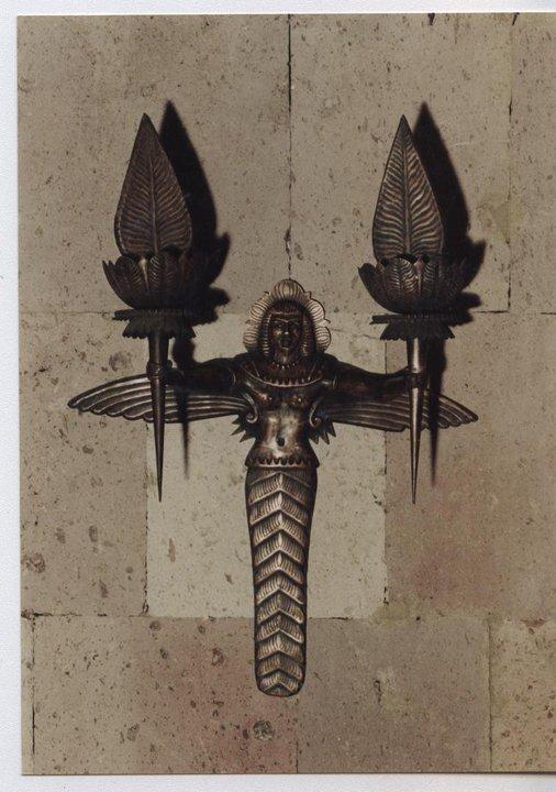 Богиня Астхик, настенное украшение