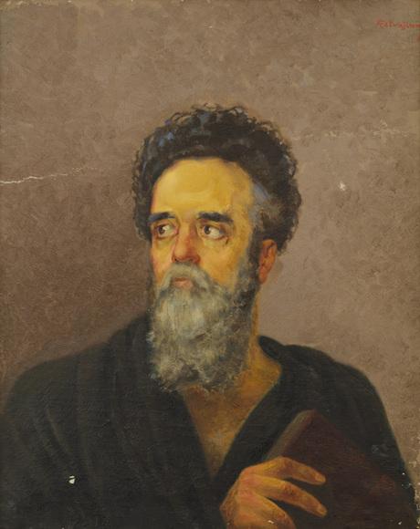 Портрет Езника Кохбаци работы Аршака Петчачяна из собрания Национальной галереи Армении