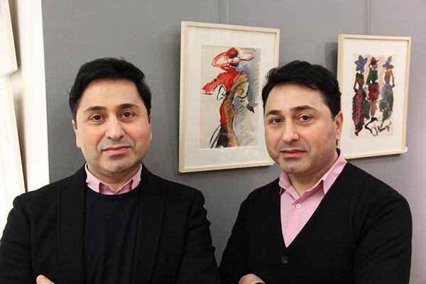 Дизайнеры армянского происхождения Геворг и Вардан Тарлояны