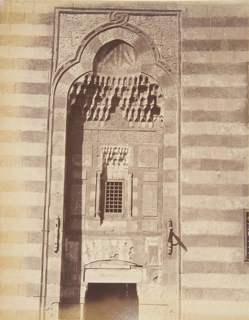 Каир Надгробная мечеть Кайтбей 1870-1880.jpg