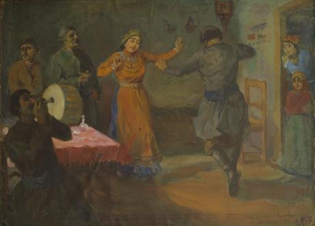 Деревенский танец