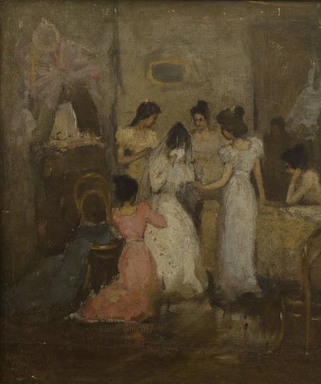 Невеста (эскиз)