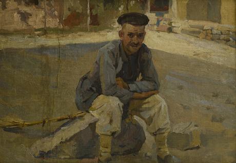 Охранник монастыря, сторож 1912