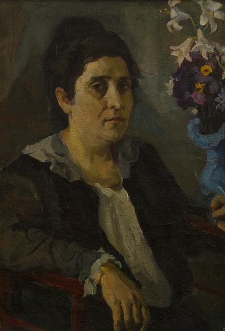 Портрет жены художника 1918