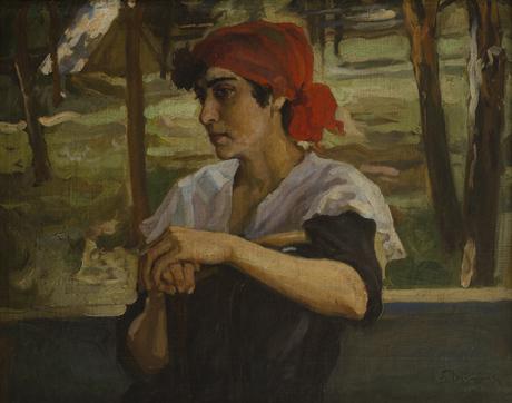Портрет Ш. Вардересовой 1917