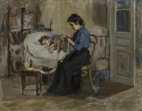У больного ребенка 1900
