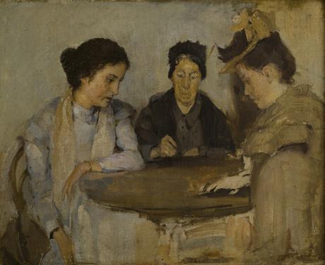 У гадалки 1898