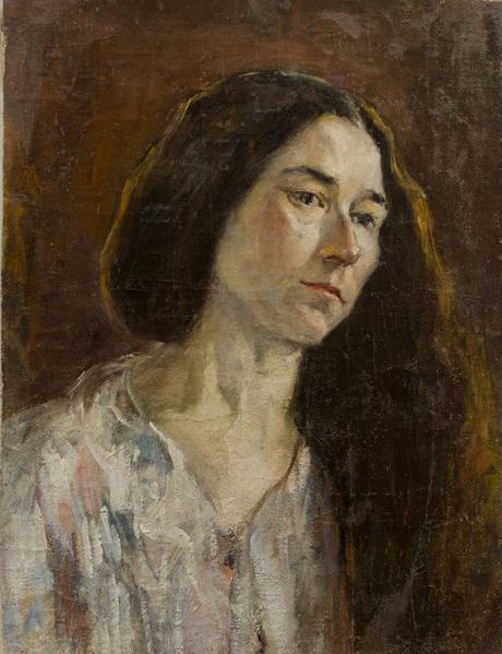 Женский портрет 1914-1916