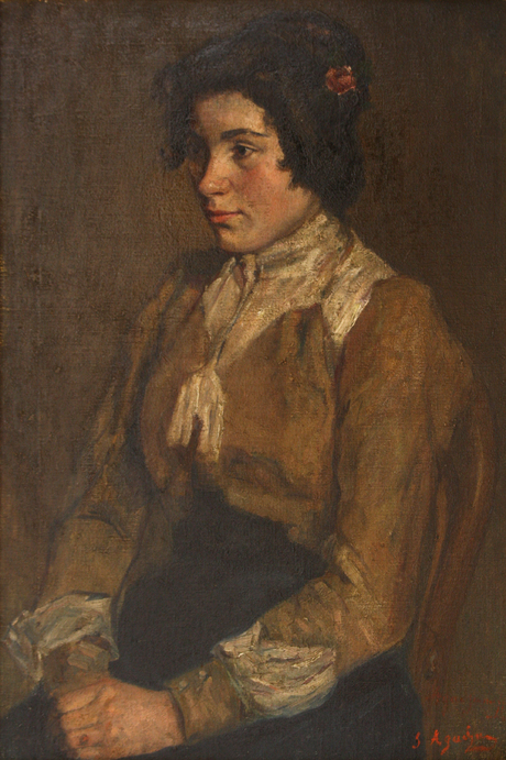 Портрет Вартитер Гаспарян 1907