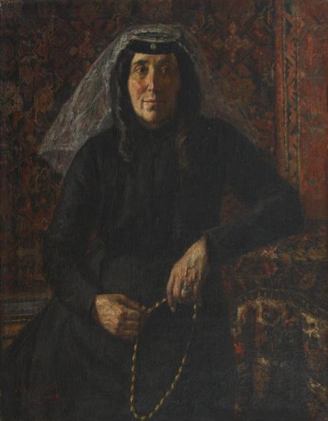 Портрет матери художника 1900