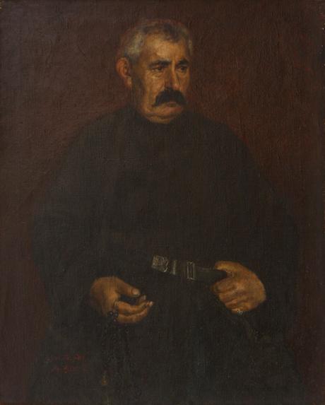 Портрет отца художника 1900