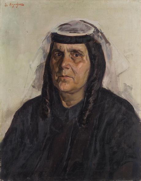 Портрет сестры художника 1929