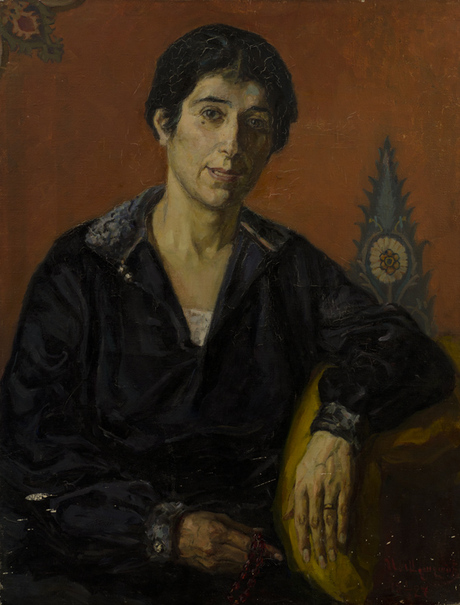 Портрет Т. Б. Еприкяна 1927