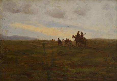 Всадники в поле 1910-1920