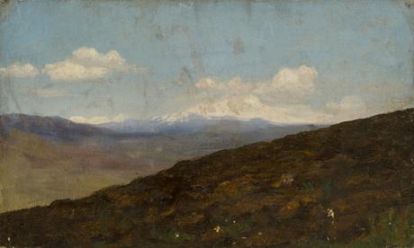 Вспаханное поле 1910-1920