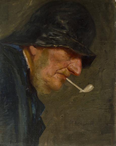 Голова рыбака 1892