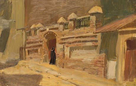 Городской пейзаж, старый Тифлис