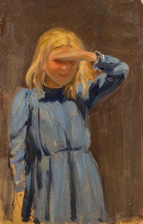 Девочка под солнцем 1910