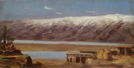 Зимний пейзаж, село
