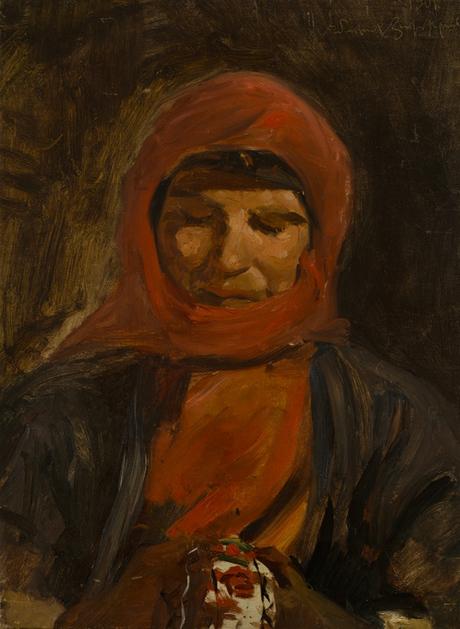 Карабахская армянка 1901