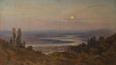 Кура Лунной ночью 1907