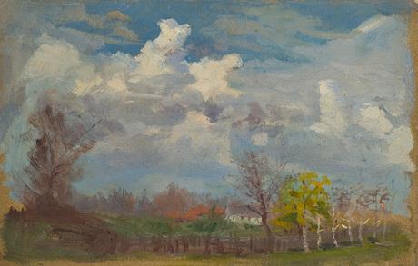 Осень в Манглисе 1901