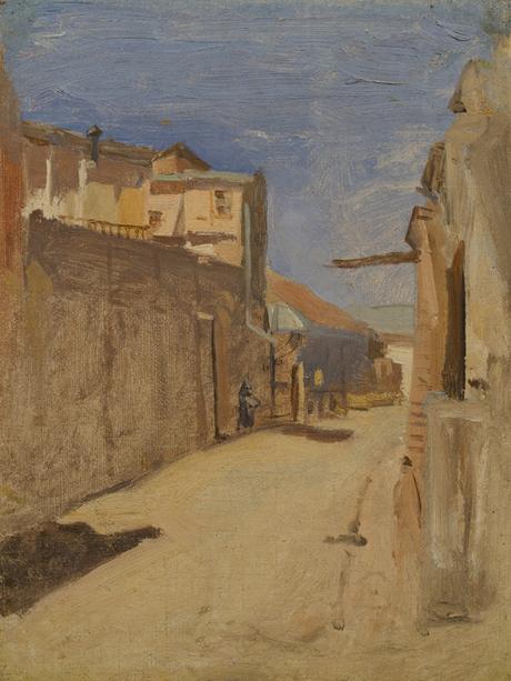 Переулок старого Тифлиса 1900