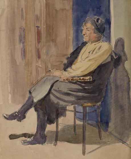 Портрет мужчины, Кара-Дарвиш