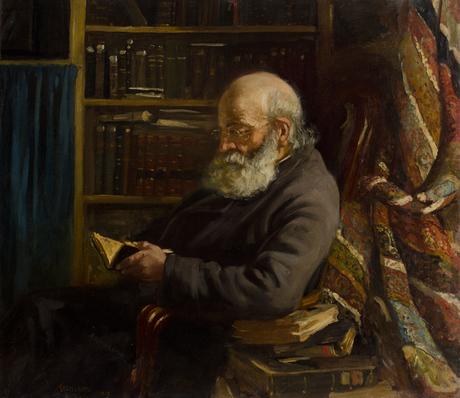 Портрет отца художника 1902