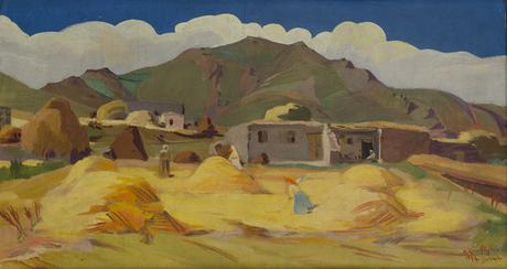 В деревне Гомагюх 1926