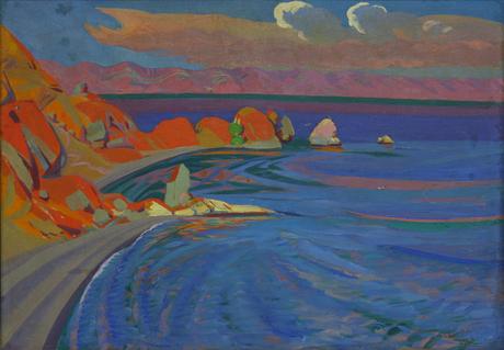 Севан. Красные скалы 1926