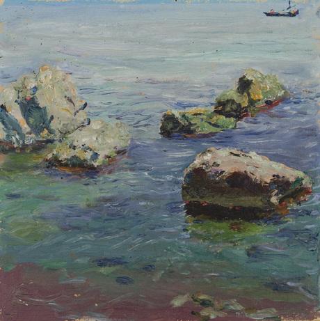 Камни возле порта 1934