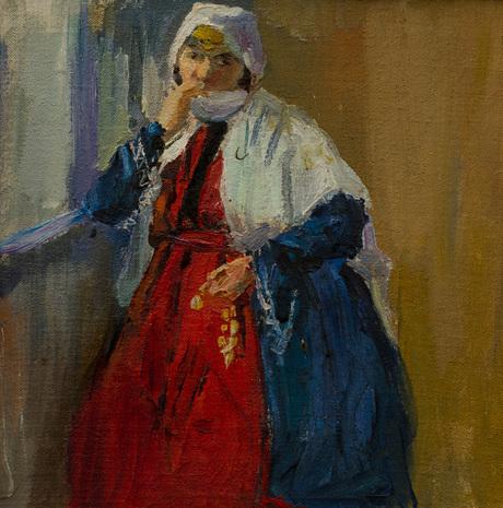 Карабахская женщина (этюд) 1911