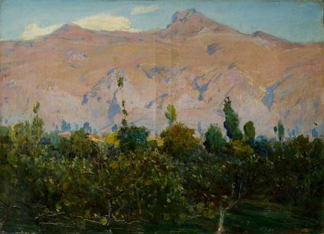 Пейзаж. Горы 1916