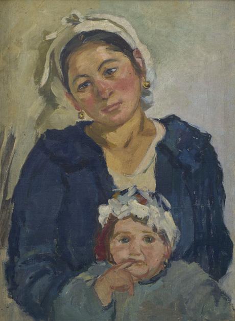Крестьянка с дочерью