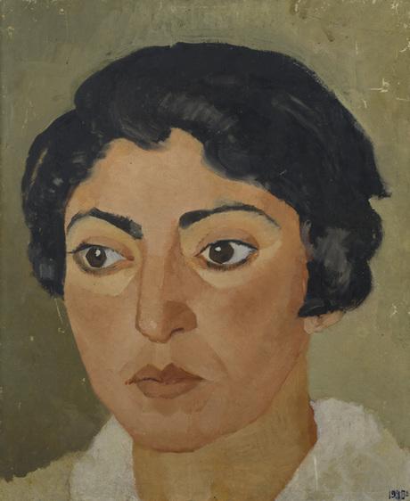 Портрет девушки 1928